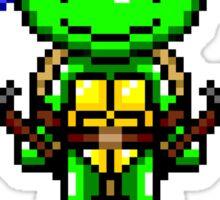 TMNT Leonardo Pixel Sticker