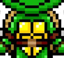 TMNT Raphael Pixel Sticker