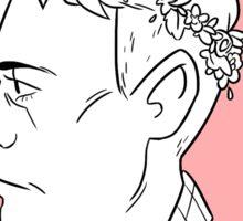 Hermann's Flower Crown Sticker