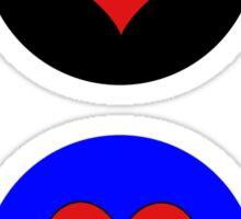Polyamory Flag Stickers Sticker