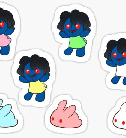 Ib dolls Sticker