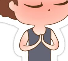 Yoga!Sam Sticker