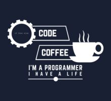 programmer : coffee and code Kids Tee
