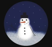 Snowman! One Piece - Long Sleeve
