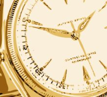 Gold Watch Sticker