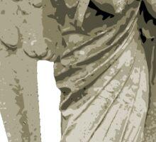 Angel Statue Sticker