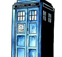 TARDIS by RiverbyNight