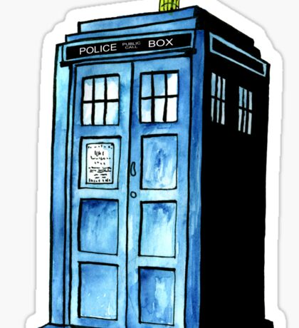 TARDIS Sticker
