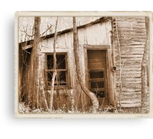 Tennessee Mountain Home Canvas Print