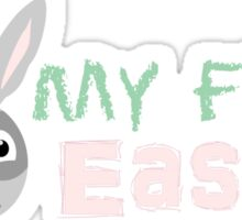 My First Easter Baby Holiday Shirt Sticker
