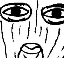 Ervis Ski Mask. Sticker