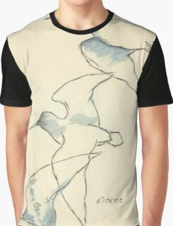 Sketching birds Graphic T-Shirt