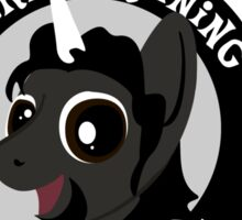 Hockey Ruining Ponies: Benn-icorn Sticker