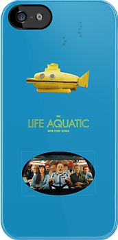 Life Aquatic blue iPhone case by BunnyJump