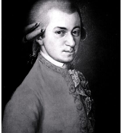 Wolfgang Amadeus Mozart   The Wighte Collection Sticker