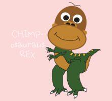 Chimposauraus-Rex T-shirt One Piece - Short Sleeve