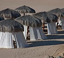 Cabo Beach Huts by phil decocco