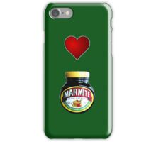 Love Marmite iPhone case iPhone Case/Skin