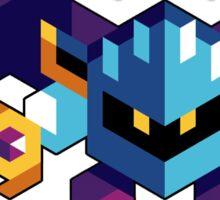 Trixel Meta Knight Sticker