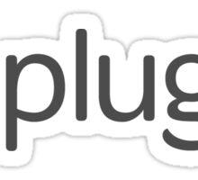 plug.dj Logo Sticker