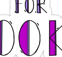 Clueing for Looks Sticker
