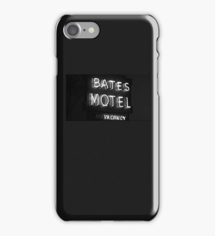 Bates Motel sign iPhone case iPhone Case/Skin