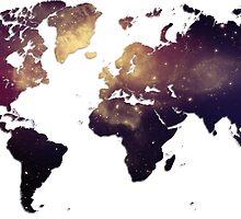 Galaxy World Map by SuperFluff