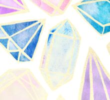 Watercolor Gems Intense Sticker