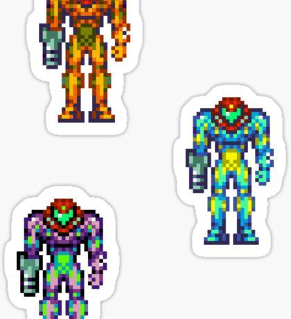 Metroid Fusion Sticker