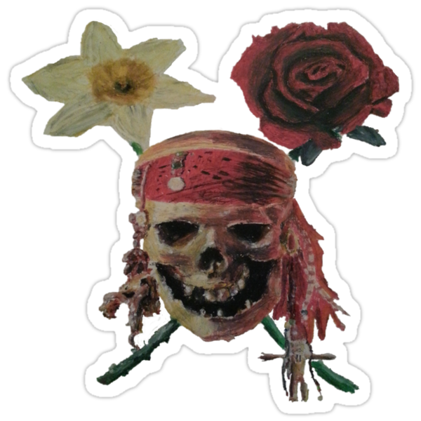 Skull And Cross Blooms by nickydean