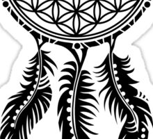 Dream Catcher - Flower Of Life Sticker
