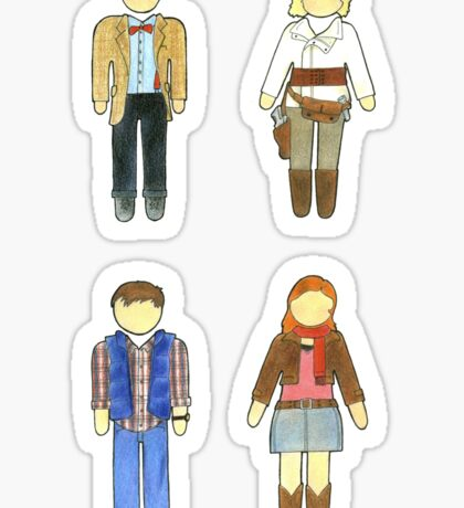 Doctor Who 11 Characters - Set #2 Sticker