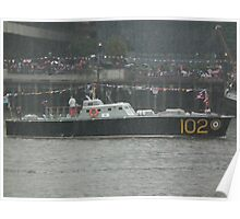 HSL 102 In The Heavy Rain Poster