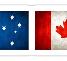 australia canada friendship Sticker