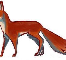 Blank Lost Fox by Casey Edwards