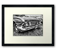 Buick Grill Framed Print