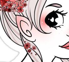 Unicorn Girl Sticker