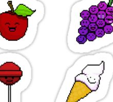 Pixels you can eat! Sticker