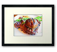Pleased to Meet the Purple Peruvian Potato Framed Print