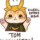 Tom Kittenston Sticker by derlaine