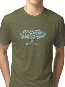 bonsai blue Tri-blend T-Shirt