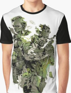 Metal Gear Solid Snake Eater Graphic T-Shirt