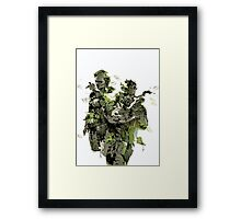 Metal Gear Solid Snake Eater Framed Print