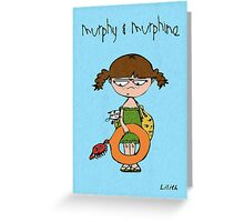 Murphy & Murphine - Beach day Greeting Card