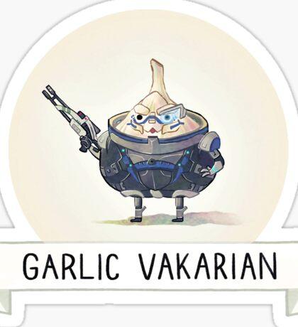 Carb Effect: Garlic Vakarian Sticker