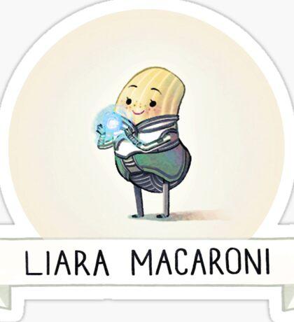 Carb Effect: Liara Macaroni Sticker