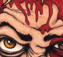 Martyr (eye-crop version) Sticker