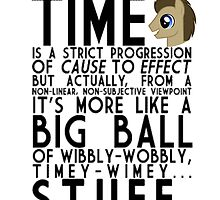 Wibbly Wobbly Timey Wimey Stuff (Doctor Whooves) by DerpyDash98