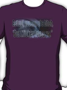 Mickey Loves Ya - Rocky T-Shirt