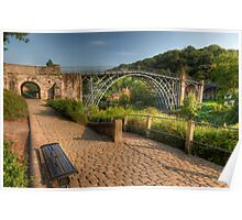 Ironbridge, England Poster